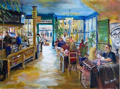 Painting - Philz Coffee San Francisco by Jack Skinner