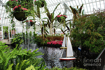 Phipps Conservatory No. 1 Art Print by Kevin Gladwell