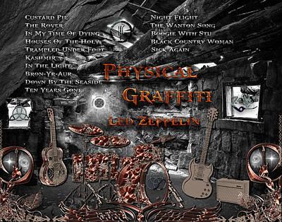 Physical Graffiti Photograph - Phisical Graffiti  by Michael Damiani