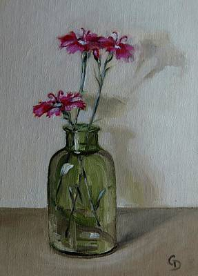 Painting - Phlox No.1 by Grace Diehl
