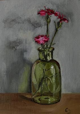 Painting - Phlox No.2 by Grace Diehl