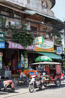 Photograph - Phnom Penh Shophouse Apartments 05 by Rick Piper Photography