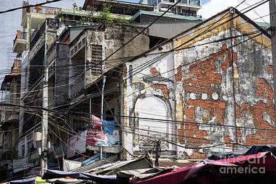 Photograph - Phnom Penh Urban Decay 01 by Rick Piper Photography