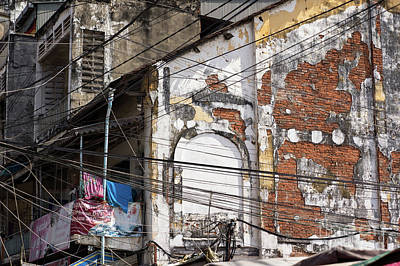 Photograph - Phnom Penh Urban Decay 02 by Rick Piper Photography
