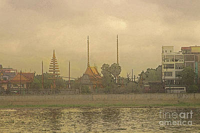 Phnom Penh - 1 Art Print by Linda Parker
