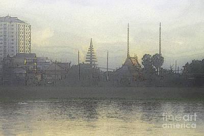 Phnom Penh - 2 Art Print by Linda Parker