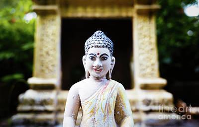 Photograph - Phnom Penh Buddha by Dean Harte