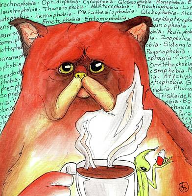 Painting - Phobias by Julie McDoniel