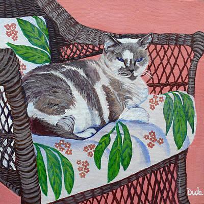 Painting - Phoebie by Susan Duda