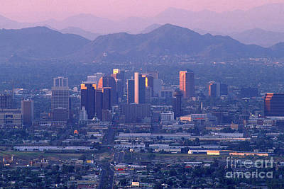 Photograph - Phoenix Arizona by Wernher Krutein