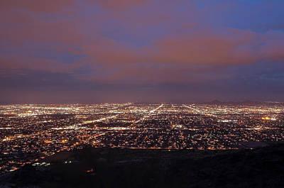 Photograph - Phoenix At Night by Tam Ryan