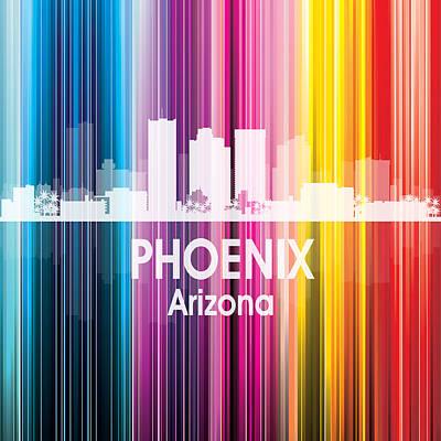 Digital Art - Phoenix Az 2 Squared by Angelina Tamez
