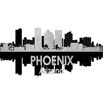Digital Art - Phoenix Az 4 Squared by Angelina Tamez