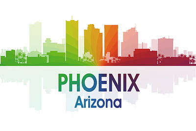 Phoenix Mixed Media - Phoenix Az  by Angelina Vick