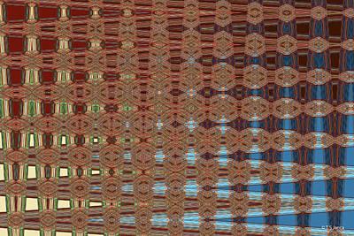 Digital Art - Phoenix Building Abstract # 2602ew3 by Tom Janca