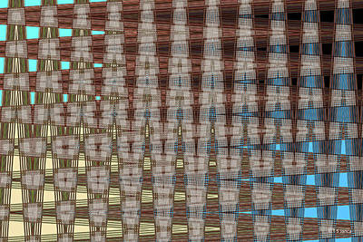 Digital Art - Phoenix Building Abstract # 2602ew4 by Tom Janca