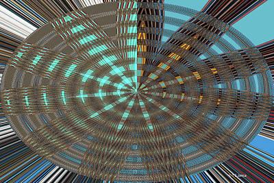 Digital Art - Phoenix Building Abstract # 2602ew5 by Tom Janca