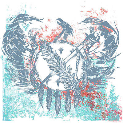 Chadlonius Drawing - Phoenix by Chad Lonius