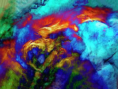 Wall Art - Digital Art - Phoenix by George Michael