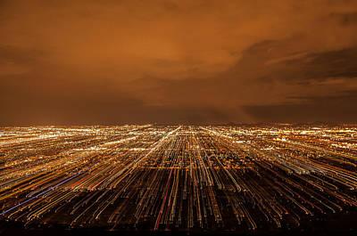 Photograph - Phoenix Lights by Tam Ryan