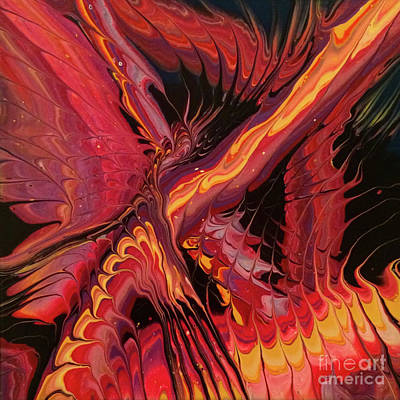 Painting - Phoenix by Lon Chaffin