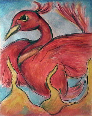 Painting - Phoenix by Loretta Nash
