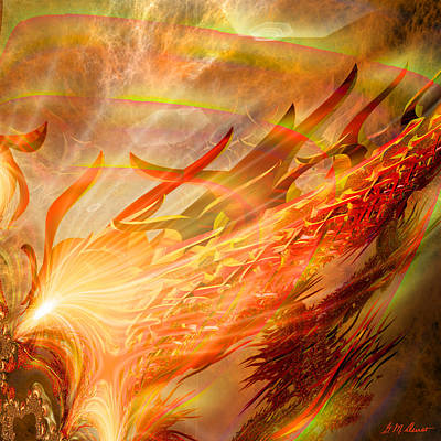 Durst Digital Art - Phoenix by Michael Durst