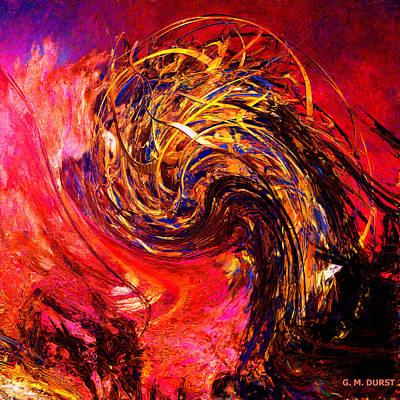 Phoenix Rising 2048 Original by Michael Durst