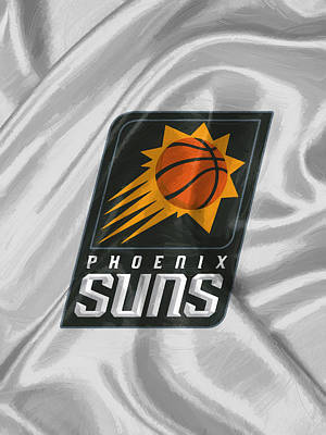 Basketball Digital Art - Phoenix Suns by Afterdarkness