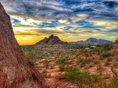 Photograph - Phoenix Sunset  by Joseph Caban