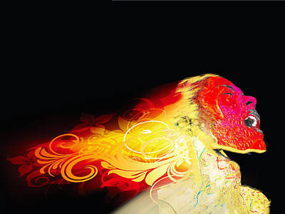 Painting - Phoenix by Tony Rubino