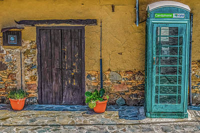 Photograph - Phone Booth In Cyprus by Dimitris Vetsikas