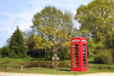 phone box in England Art Print