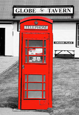 Photograph - Phone Box - Red Series by Dennis Cox Photo Explorer