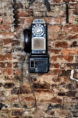 Pay Phone  Art Print