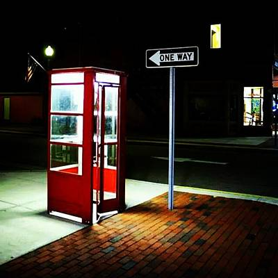 Er Photograph - #phonebooth #hometown #eatonrapids by Mr Brandon Leo