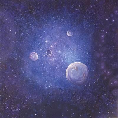 Metaphysical Painting - Phosphene Influence by Ed Regensburg