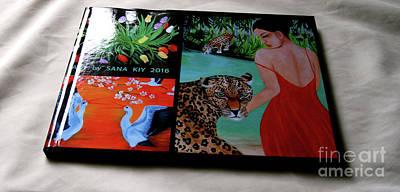 Painting - Photo Book 75 P. Art  By  Sana  Kiy 2016 by Oksana Semenchenko