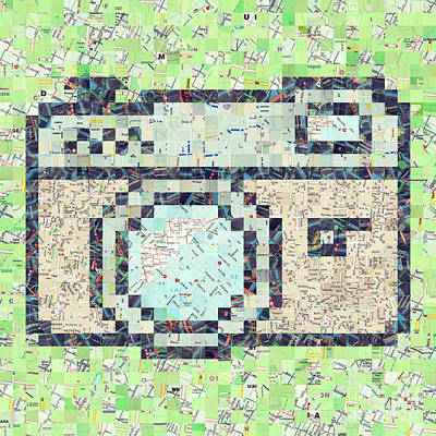 Vintage Camera Mixed Media - Photo Camera by Igor Kislev