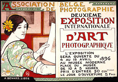 Photograph - Photo Exhibit Ad 1896 by Padre Art