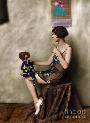 Photograph - Photo Of Ziegfeld Model  by R Muirhead Art