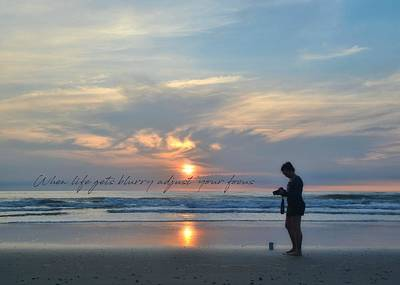 Photograph - Photo Shoot Quote by Jamart Photography