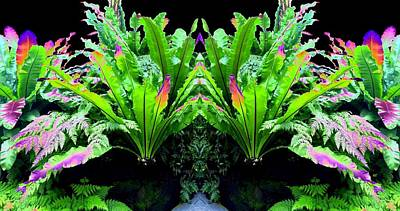 Digital Art - Photo Synthesis 11 by Will Borden