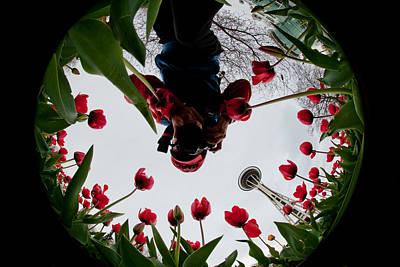 Photographer In Wonderland H084 Art Print by Yoshiki Nakamura