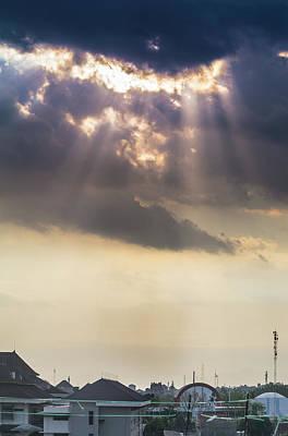 Ray Of Light Sunset Original