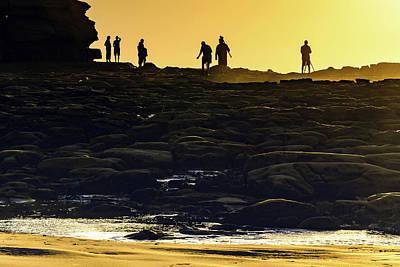 Rusty Trucks - Photographer Silhouettes - Capturing the Sun by Merrillie Redden