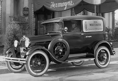 Photographer's 1928 Truck Art Print
