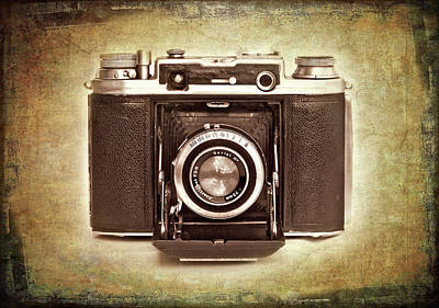 Bellows Photograph - Photographer's Nostalgia by Meirion Matthias