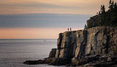 Photograph - Photographers On The Cliffs by Darylann Leonard Photography