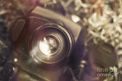 Aperture Photograph - Photographic Lens Reflections by Jorgo Photography - Wall Art Gallery